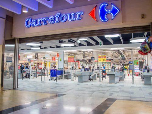 Loja do Carrefour.