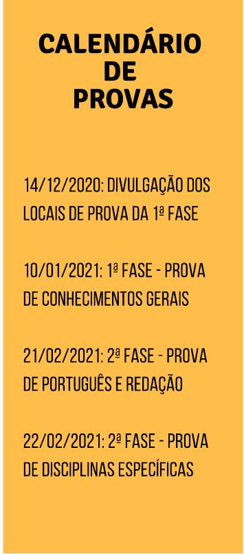 calendario provas fuvest