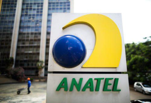 Fachada da sede da ANATEL, em Brasília.